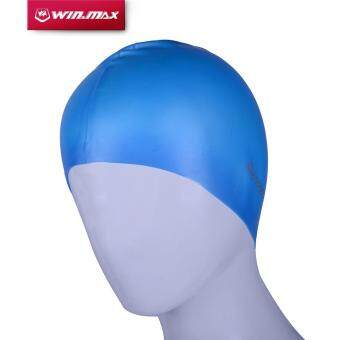 Harga Winmax Diving Swimming Silicone cap