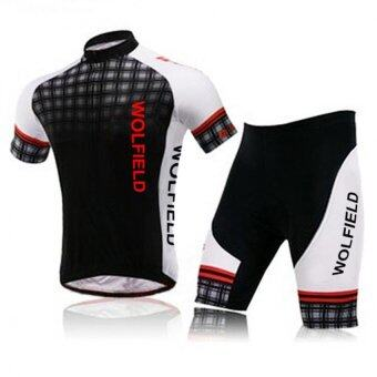 Harga YBC Sport Cycling Jersey Bicycle Bike Wear Set Comfortable Outdoor Clothes Shorts