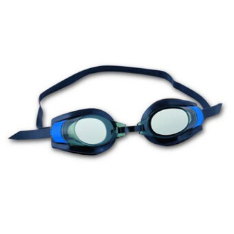 Harga BESTWAY (21005) Hydro PRO Racer Small Frame Diving Snorkeling Googles [bc05] - (Blue)