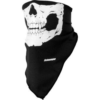 Harga niceEshop Stretchable Skull Bandana Face Mask Motorcycle Biker Mask-Black