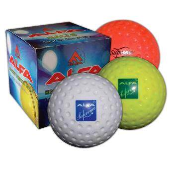 Harga Alfa Hockey Ball Supreme Dimple (6Pcs)