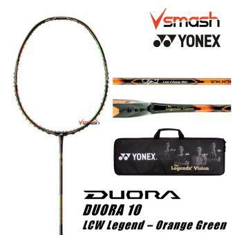 Harga Yonex Duora 10 (3U) LCW Legend Orange Green Badminton Racket