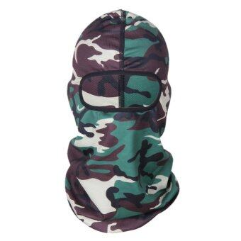Harga Outdoor Jungle Camouflage Full Face Mask Tactical Cycling Mask Motorcycle