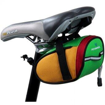 Harga LoveSport Cycling Bicycle Bike Saddle Pouch Seat Frame Tail Bag Waterproof (Green)
