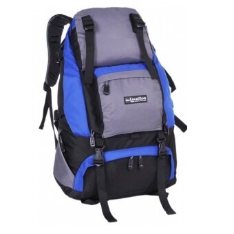 Harga Local Lion LL1055L 50L Waterproof Outdoor Backpack (Blue)