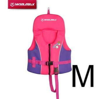 Harga WinMax Child Swimming Jacket for Kids (Pink Size M)