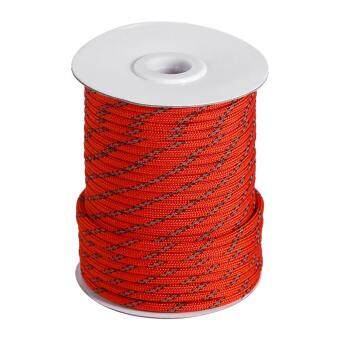 Harga 1 Roll New Camping Awning Shelter Sunshade Cord Tent Reel Guy Rope Line Reflective String 30M