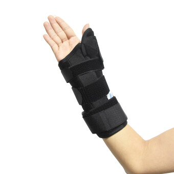 Harga New Carpal Tunnel Medical Wrist Support Sprain Forearm Splint Band Strap Protector Wrist Brace Thumb Spica Support Pads(size L)