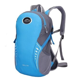 Harga Local Lion Super Light Waterproof Cycling/Sports Backpack 15L Blue