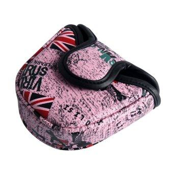 Harga Andux Golf Putter Head Cover Headcover for Blade Style Putter MT/TG04 Pink