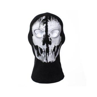 Harga Tactical Skull Mask Men Military Halloween Ghost Mask Army Airsoft Paintball Warm Mask