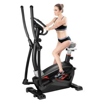 Harga ADKING T911[NP699] 2 In 1 Elliptical Cross Trainer With Hand Pulse Elliptical Bike Indoor Cycle Trainer Gym Workout Fitness