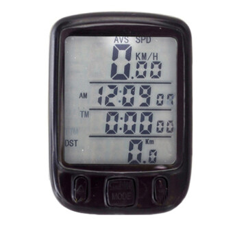 Harga LoveSport Bicycle Bike Cycle LCD Digital Computer Speedometer Odometer LED Backlight (White)