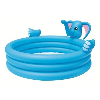 Harga Bestway 3-Ring Elephant Spray Pool