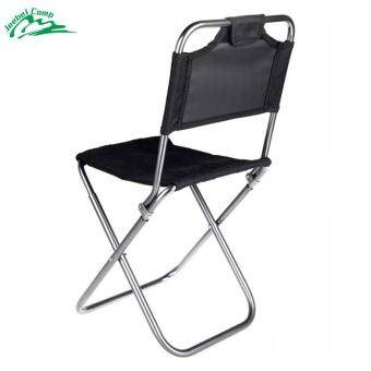 Harga Jeebel Foldable Fishing Camping Chair Portable Folding AluminumOxford Cloth Chair Outdoor Fishing with Backrest Carry Bag