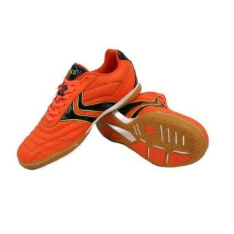 Kika 1504 Leather Futsal Shoes - Orange