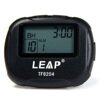 LEAP TF6204 Utility Interval Timer for Yoga Hiit Cardio Tabata withLCD (Black)