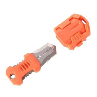 Harga Mini Multifunction EDC Knife Pocket Survival Tool MOLLE WebbingSelf orange