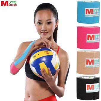 Harga Mumian 5cm*3M Kinesio Tex Tape Athletic Tapes Kinesiology SportTaping Strapping Knee Muscle Kinesiotape MK6