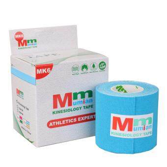 Harga Mumian Kinesio Tex Tape Athletic Tapes Kinesiology Sport TapingStrapping Knee Muscle Kinesiotape MK6 3M SKY BLUE