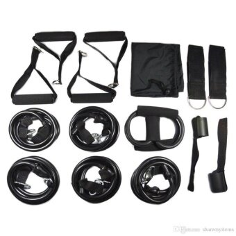 Muscle Rope Resistance band 2x heavier Black Edition yoga fitness70kg