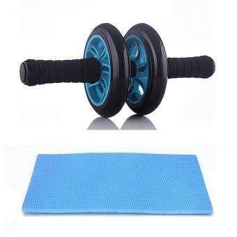 New Generation Double Wheel AB Roller Free Knee Mat
