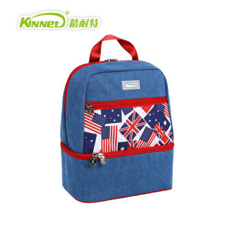Paul knight fine double insulation package shoulder bag ice packlead flower denim backpack fashion big easy
