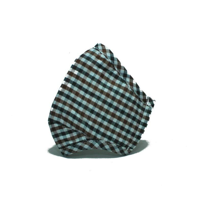 Buy PM2.5 Adult Face Mask with Filters (Checker design) - BROWN Malaysia