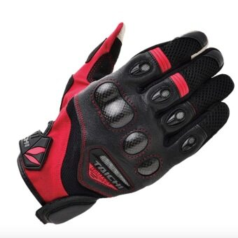Harga RS-TAICHI RST418 Gloves Cycling Gloves Motorcycle Gloves Red withblack