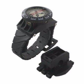 Harga Scuba Choice DIVING DELUXE WRIST COMPASS WITH HOSE MOUNT