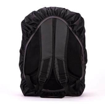 Sokano Waterproof Rain Cover For 30 50L Backpack Black - 4