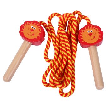 Sports in the test tournament fitness early childhood jump rope Children jump rope