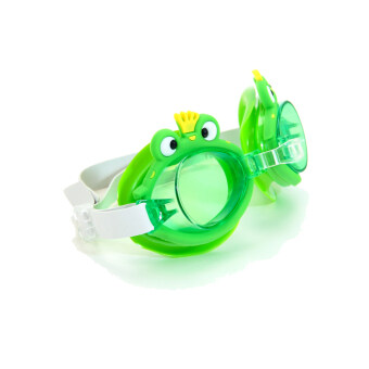 SUPER-K(R) Contton Swimming Goggles for Kids SSM1801 Green