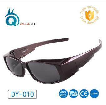Harga Unisex Polarized Sunglasses Hot Sale Colorful Fit Over GlassesPolarized Cover Precription Wear Fit-over Eyeglasses