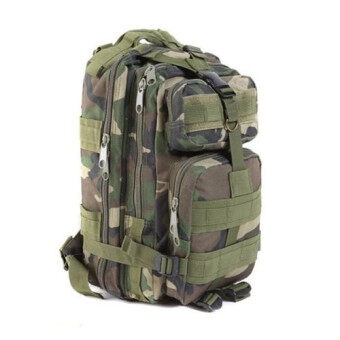 Harga Warbase Camping Backpack (Jungle Camouflage)