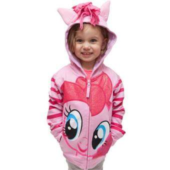 Harga 0-8Y Girls Kids Children Hoodie My Little Pony Wings Sweatshirt Coat Jacket, Pink Pinkie Pie
