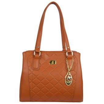 Harga 100% Original British Polo Summer Sale Elegant handbag Brown(PL61117-02)