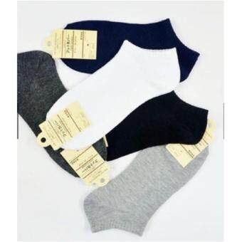 Harga 1Set = 6pair - Japan Quality Low Ankle Socks