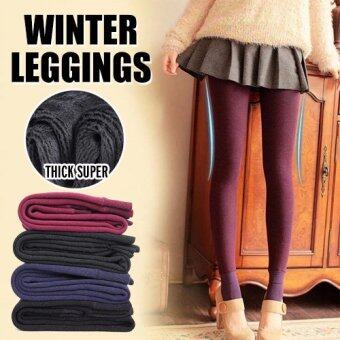 Harga 2016 Women/ Men Winter Leggings /-15 degree keep warm/ inner wear/Women pants /plus size - BLACK