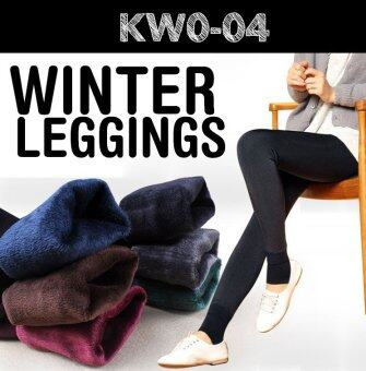 Harga 2016 Women Winter Leggings / keep warm/ inner wear/ Women pants/Plus size - BLUE
