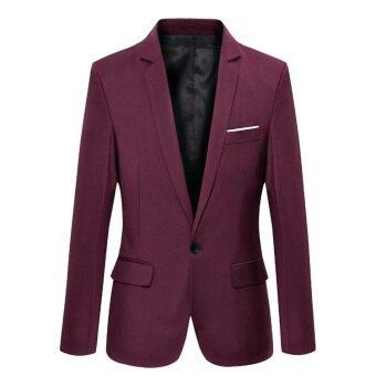 2017 Casual Suit Blazer Men New Arrival Fashion Slim Fit JacketMale Suits Masculine Blazer for Men Outerwear - 3