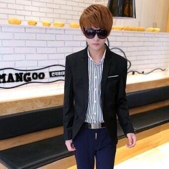 2017 Casual Suit Blazer Men New Arrival Fashion Slim Fit JacketMale Suits Masculine Blazer for Men Outerwear - 4