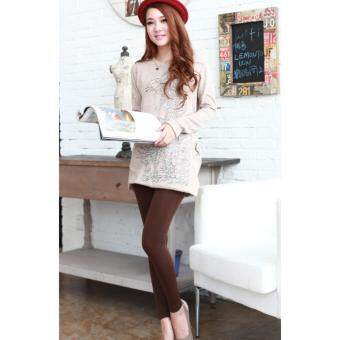 Harga 2017 Women/ Men Winter Leggings /-15 degree keep warm/ inner wear/Women pants-Coffee