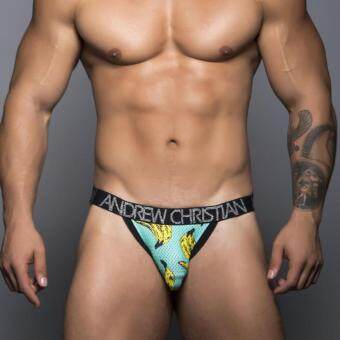 Andrew Christian Banana Jock (Green, Yellow, Black)