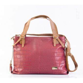 Harga AR Casual Shoulder Bag Maroon AB-2145