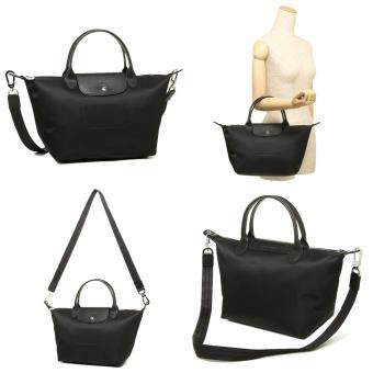 Authentic Longchamp Neo 1515 Medium Black - Made In France and FreeShipping