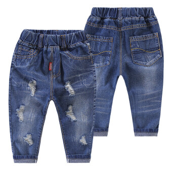 Baby girls boy's denim pants (Access Control Red Label denim pants) (Access Control Red Label denim pants)