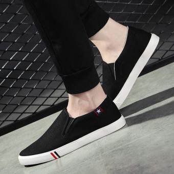 Harga Big Size Men Casual Shoes Fashion Breathable Brand Male Shoes Large Size Men Flats Shoes Brand Designer Flats Shoes
