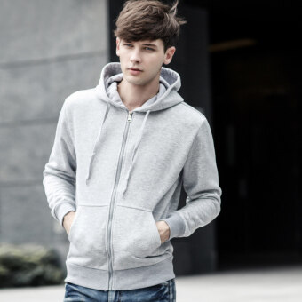 Black color pocket Top hoodie (New style gray) (New style gray)
