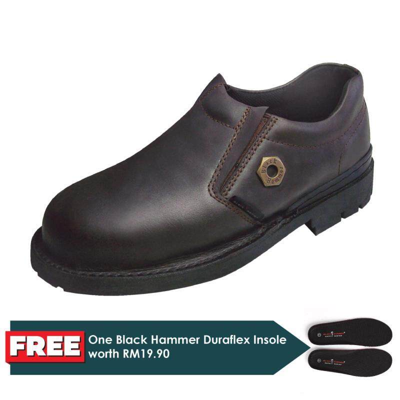 Buy Black Hammer 4000 Series Low cut Slip on Safety Shoes Malaysia